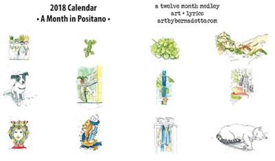 2018 calendar sample 1