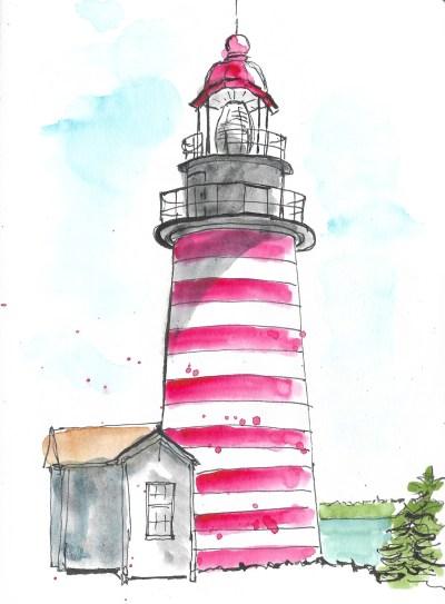 Lubec lighthouse