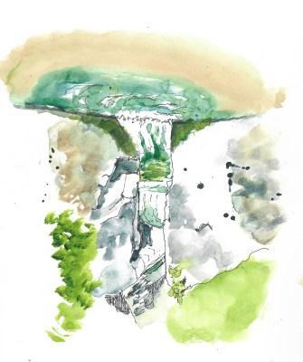 Beggs Pool falls