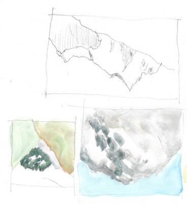 Milford Sound sketches