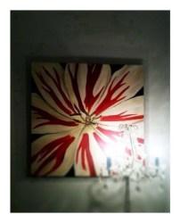 Eilishs Flower 30x30 Acyrlic on Canvas SOLD