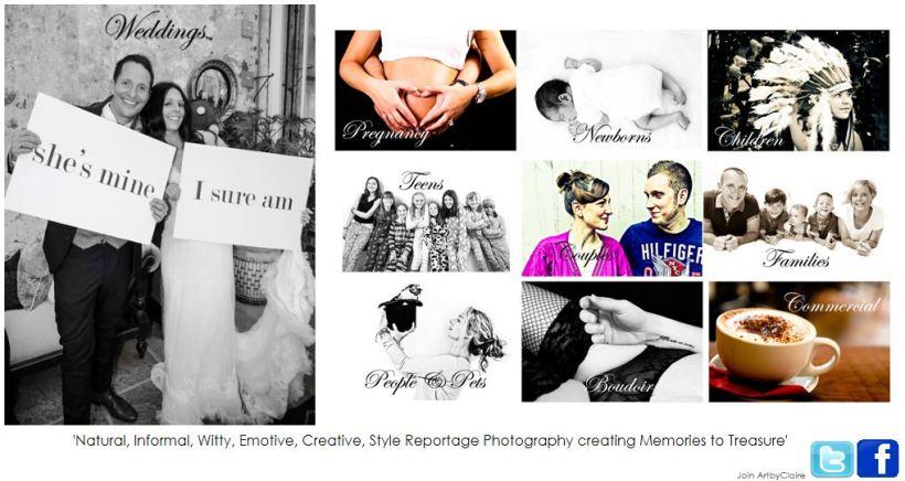 ArtbyClaire Wedding & Portrait Photography