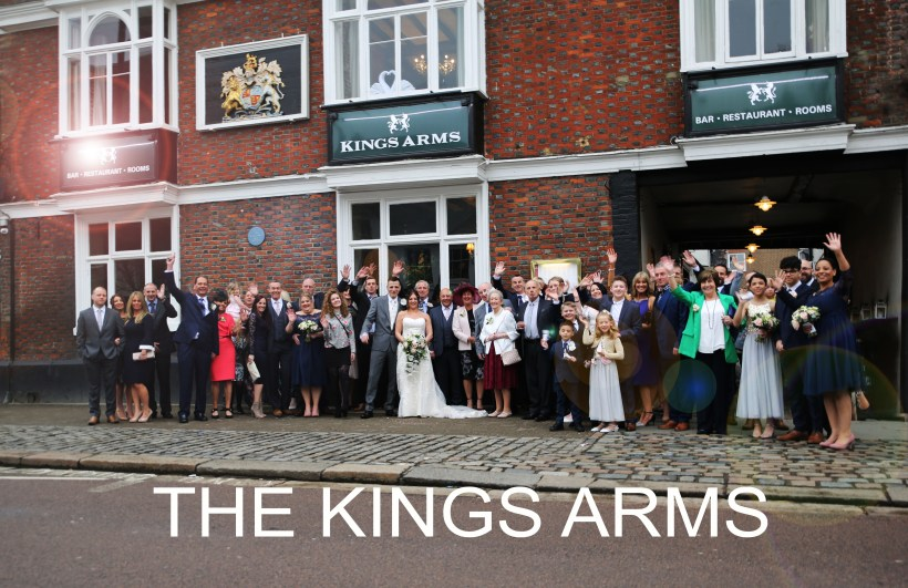 ArtbyClaire Wedding Photographer recommended by The King's Arms Berkhamsted