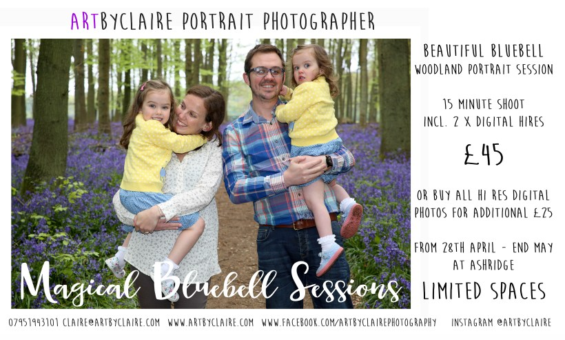 Bluebell Woods Ashridge Woodland Portrait Session