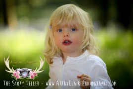 Bluebell Woods Photo Shoot by ArtbyClaire Photography