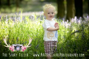 Bluebell Woods Shoot At Dockey Wood by ArtbyClaire Photography