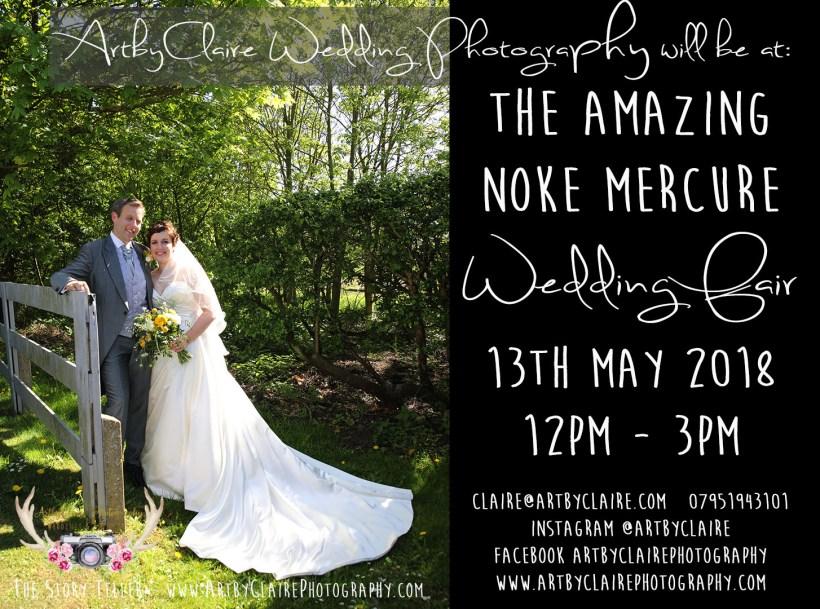 ArtbyClaire Wedding Photography - The Noke Mercure Wedding Fair