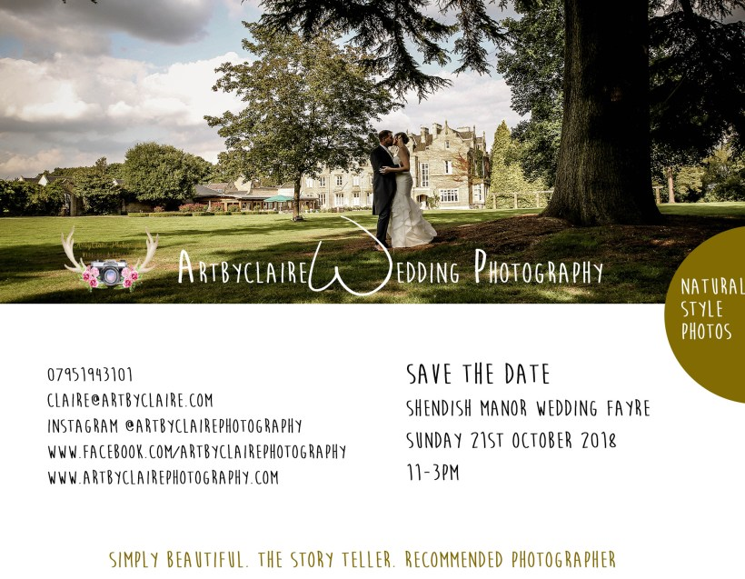 Shendish Manor Wedding Fayre by ArtbyClaire Wedding Photographer, Hemel Hempstead