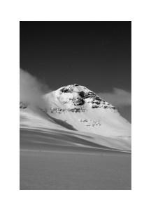 Photo Art Print Poster - I Am A Mountain