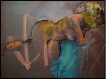 Lounging - Art by Dan Smith