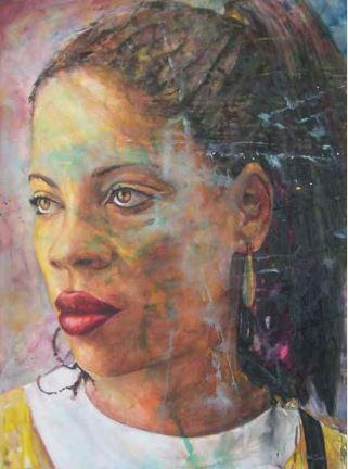 Theresa - Art by Dan Smith