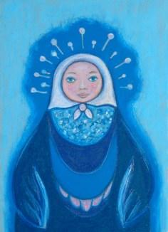 Matryoshka blue peace 13 18