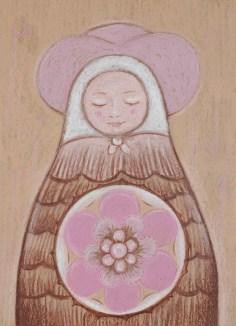 Matryoshka pink hat 13 18