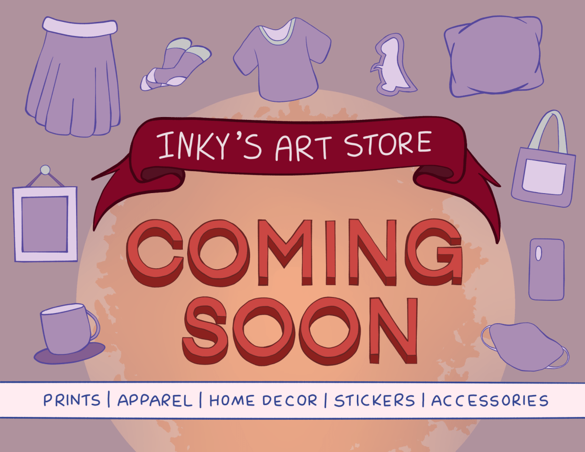 A filler image for an art store that is coming soon.