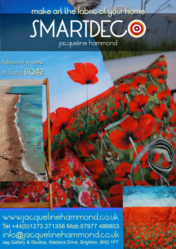 Jacqueline Hammond's Smartdeco range will be exhibited at Spring Fair International 2013, Europe's leading home and gifts trade fair at the Birmingham NEC, 3-7th February 2013 - stand number 6Q42 in the Contemporary Gift & Home section.