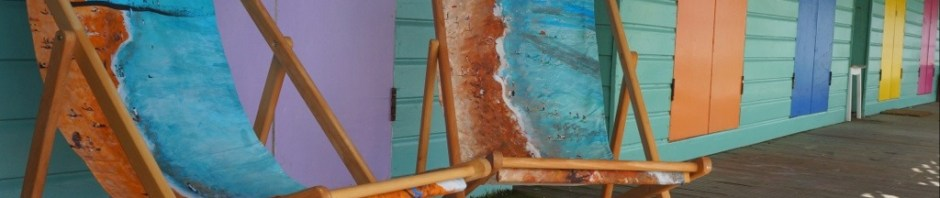 Life a Beach Deckchair - by Jacqueline Hammond