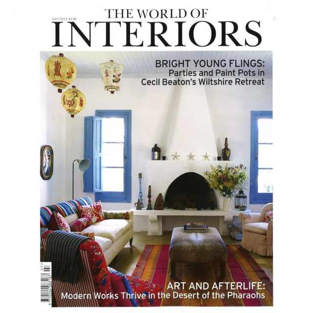 World of Interiors-cover-july 2014