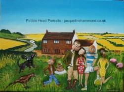 Pebble Head Portrait by Jacqueline Hammond (10)