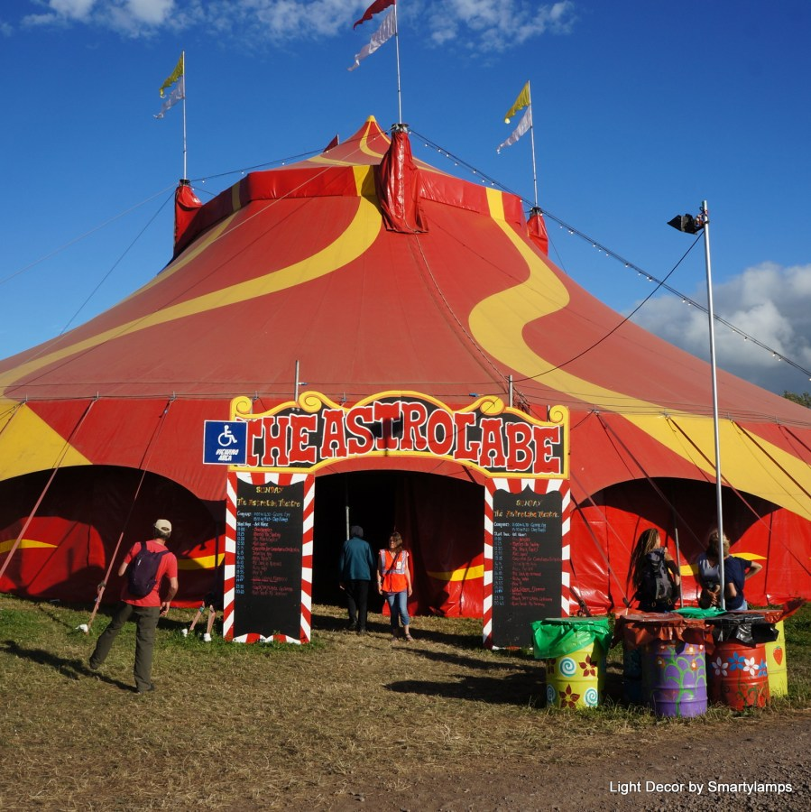 Glastonbury 2017 Theatre & Circus field