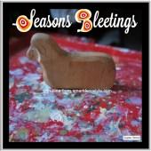 Seasons Bleetings -Dear oh Deer Xmas cards designed by Jacqueline Hammond for SmartDeco https://www.smartdecostyle.com/ Shareable Content Copyright©2014 Jacqueline Hammond