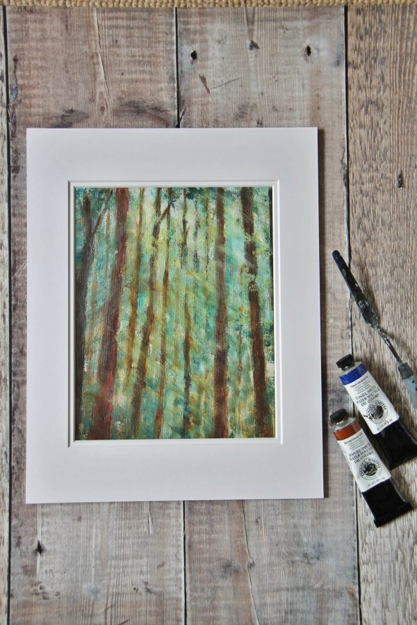 Ancestral Woods oil on canvas