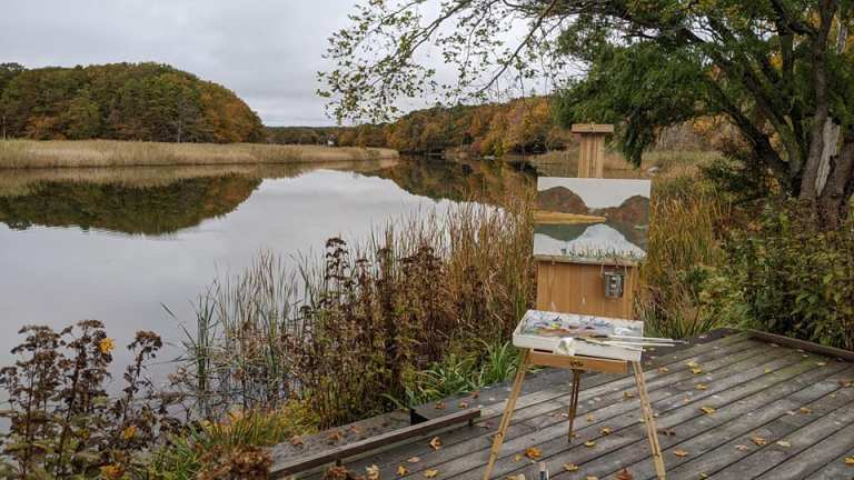Florence Griswold Museum Plein Air 10.2020