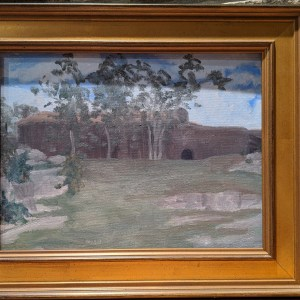 Ellie Mitchell Pavillion at Rocky Neck, Plein Air