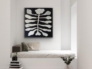 Exoskeleton of a Wandering Zebras Stripes