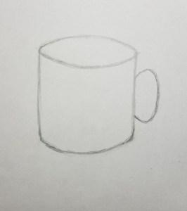 How-to-Draw-a-Mug-Step-1