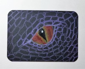 How To Draw Dragon Eyes Art By Ro
