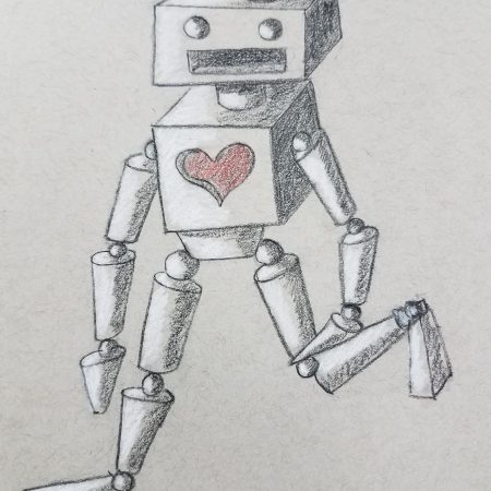 How-To-Draw-A-Robot-Using-Shapes-Highlights