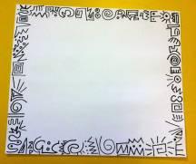 Keith Haring art projec