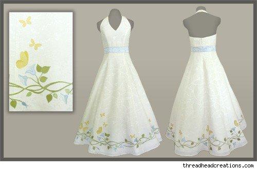 ArtCardBook Wedding Ideas: Design Your Own Wedding Dress 5