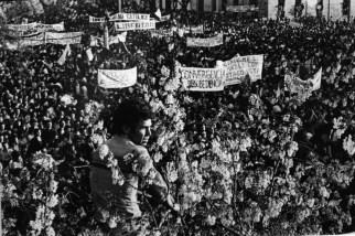 Concentració de l'oposició (Santiago de Xile), Alvaro Hoppe,1984