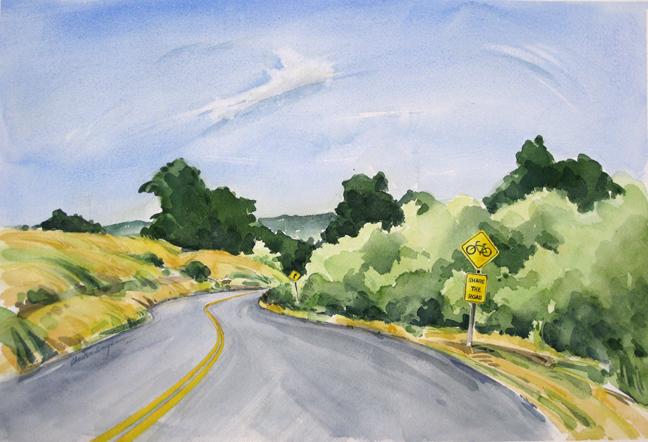 Chet Amyx - Watercolors
