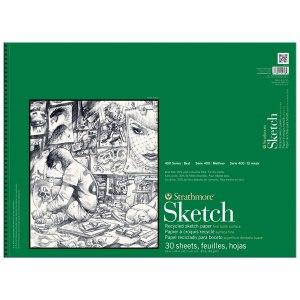 Strathmore Rec Sketch 18x24