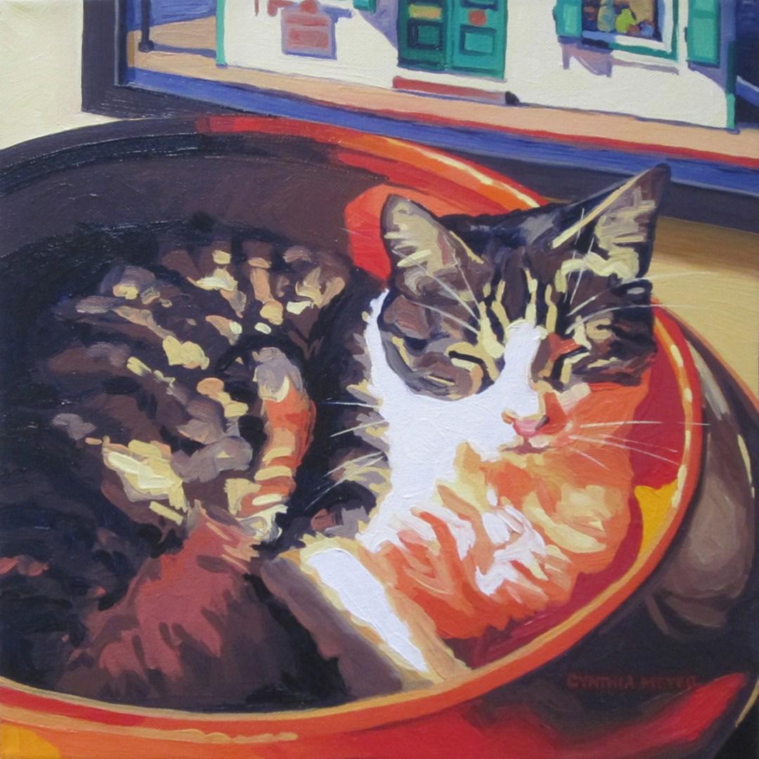 "Cynthia Meyer ""Charlie Loves the Orange Bowl"""
