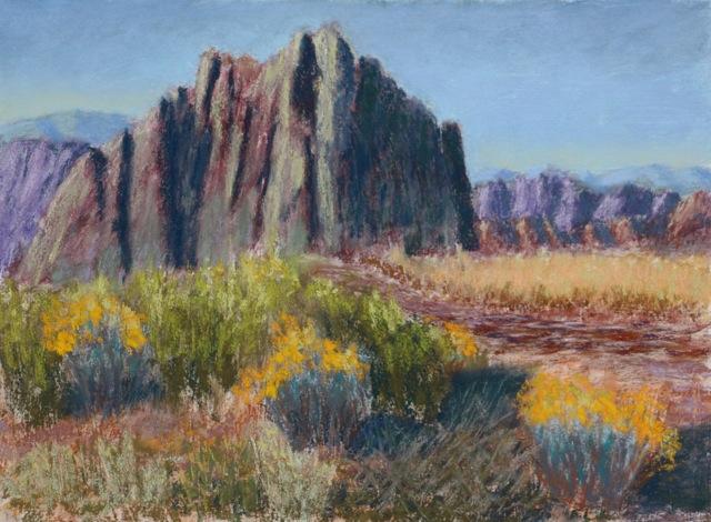 Tom Frey - Approaching Smith Rock