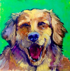Old Yellow - Laura Susan Thomas - Giclee from Oil