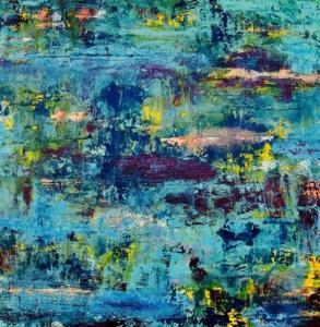 Twilight Lagoon - Linda DeRosa 12x12 Acrylic