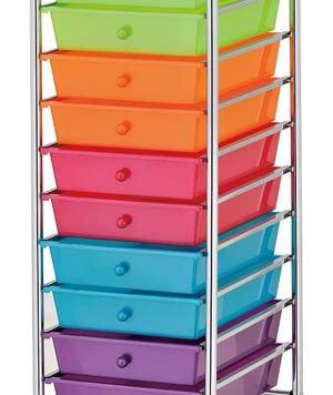 rainbow drawers