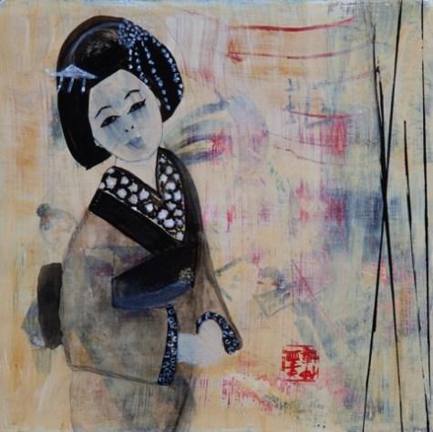 Geisha Girl by Rebecca Simmons 11x11
