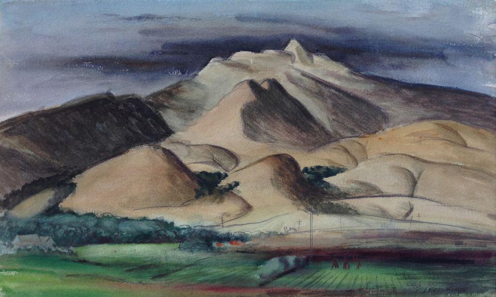 leon amyx fremonts peak 1940