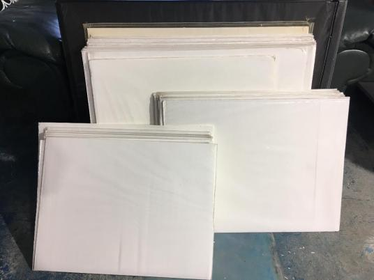 Used Archival Print Protectors