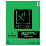 Canson, XL Recycled Bristol Pad 11x14