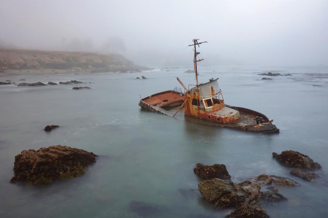 Cayucos Shipwreck - Kari Applegate