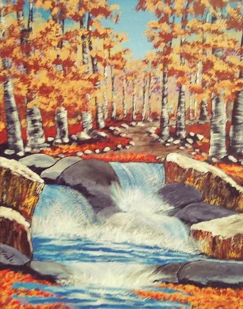Rivers of Flowing Waters - Cindy Burnside