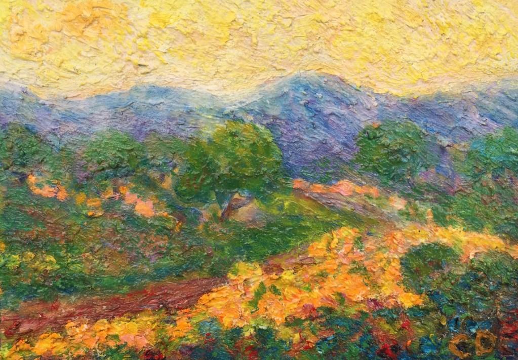 "Charlotte D'Aigle, ""Mountain Spring"""
