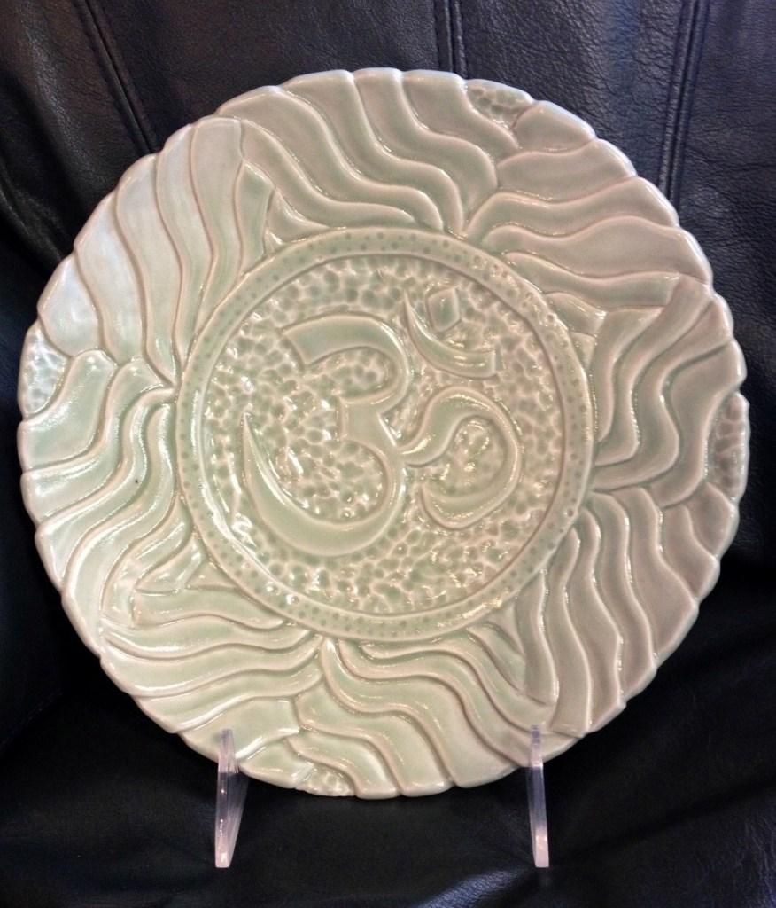 """Guyla Amyx """"Carved Plate"""""""