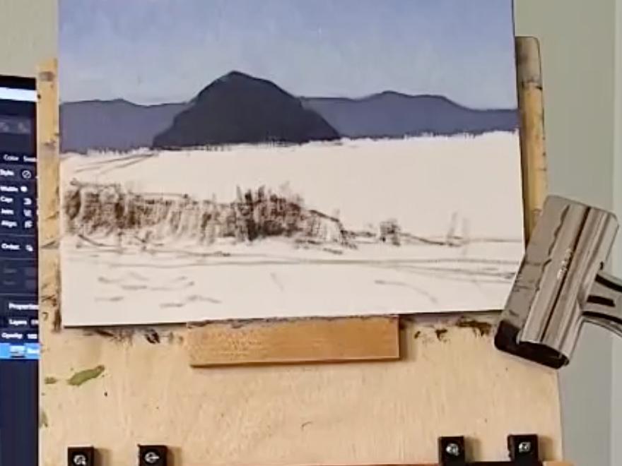 Lee Michetti - Oil Painting Demo